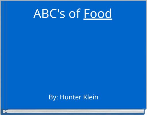 ABC's of Food
