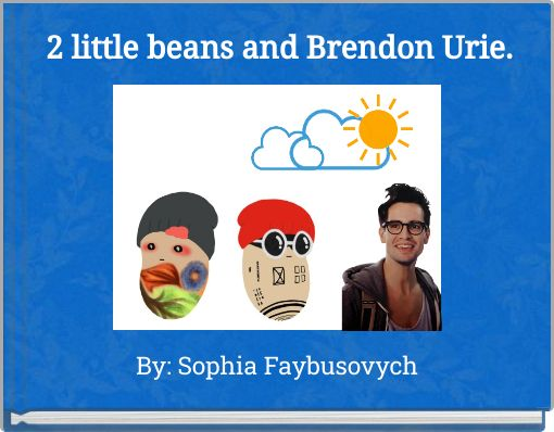 2 little beans and Brendon Urie.