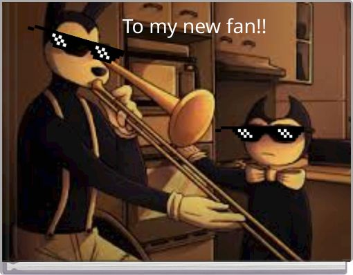 To my new fan!!