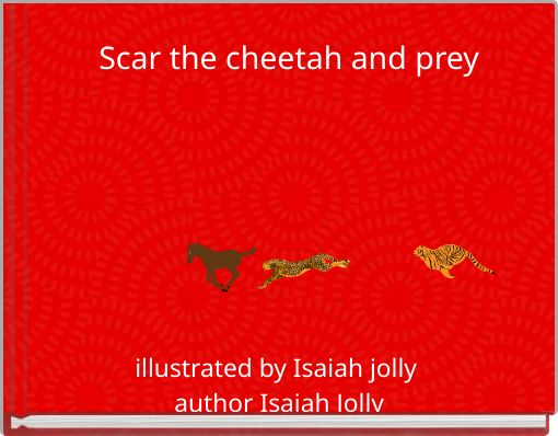 Scar the cheetah and prey