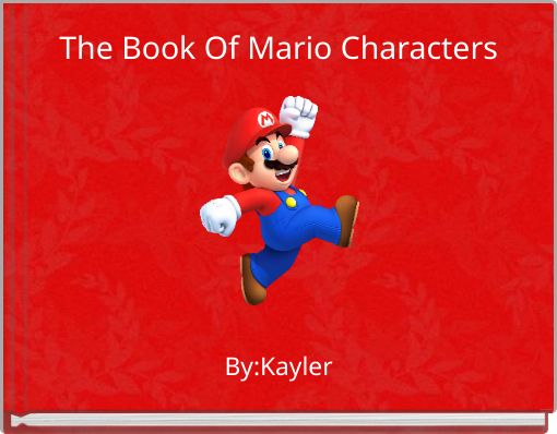 The Book Of Mario Characters