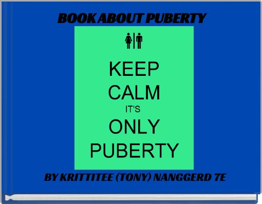 BOOK ABOUT PUBERTY