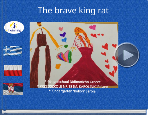 Book titled 'The brave king rat'