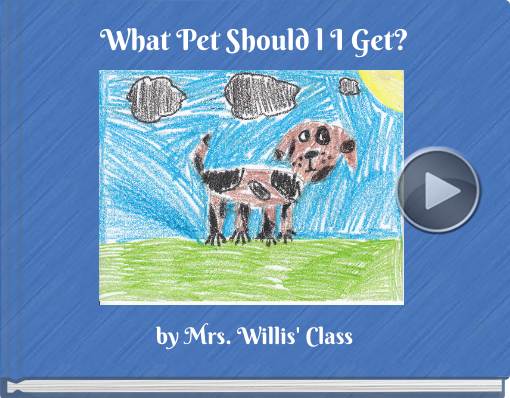 Book titled 'What Pet Should l I Get?'
