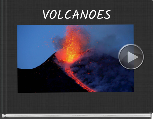 Book titled 'VOLCANOES'