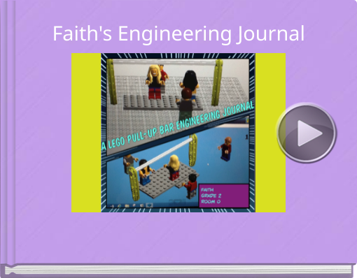 Book titled 'Faith's Engineering Journal'
