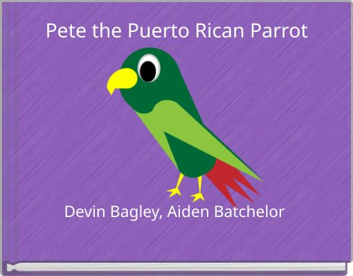 Pete the Puerto Rican Parrot