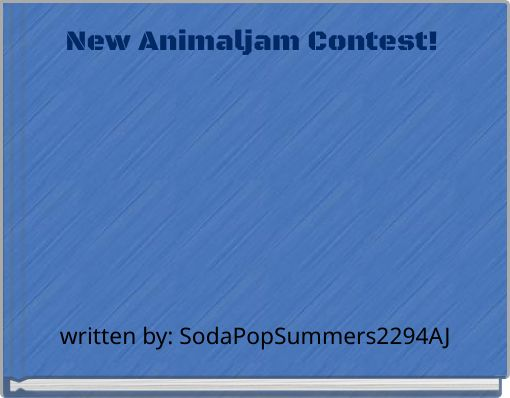 New Animaljam Contest!