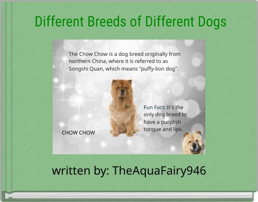 Different Breeds of Different Dogs