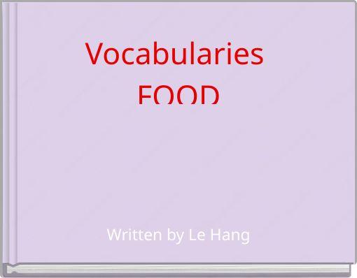Vocabularies FOOD