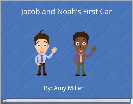 Jacob and Noah's First Car