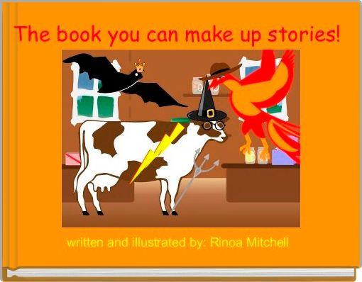 The book you can make up stories!