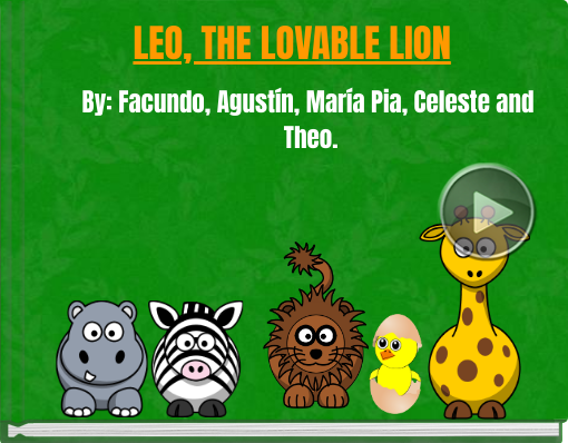 Book titled 'LEO, THE LOVABLE LION'