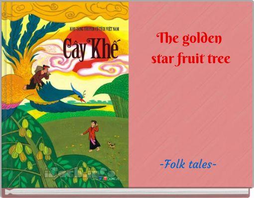 The golden star fruit tree