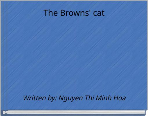 The Browns' cat