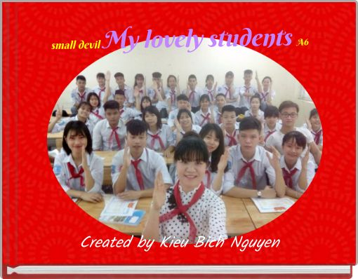 small devil      My lovely students    A6
