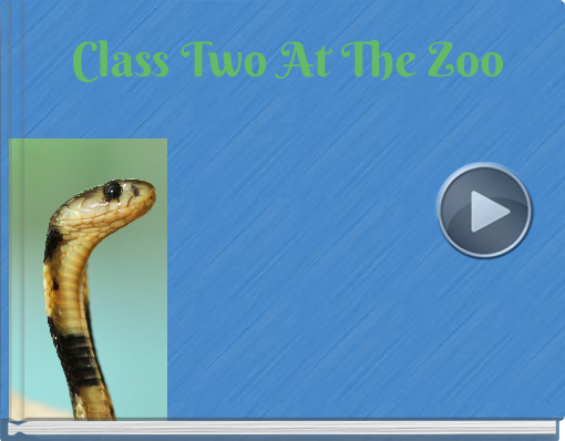 Book titled 'Class Two At The Zoo'