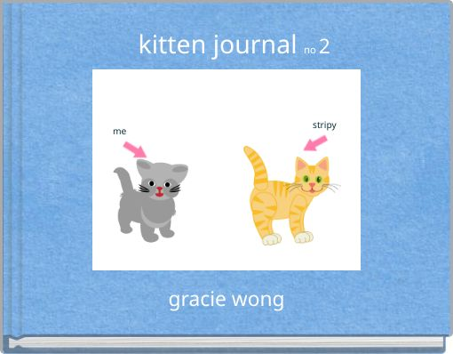 kitten journal  no 2