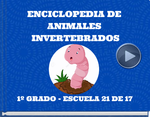 Book titled 'ENCICLOPEDIA DE ANIMALES INVERTEBRADOS'