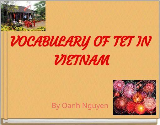 VOCABULARY OF TET IN VIETNAM