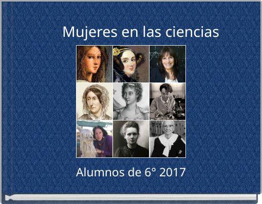 Mujeres en las ciencias