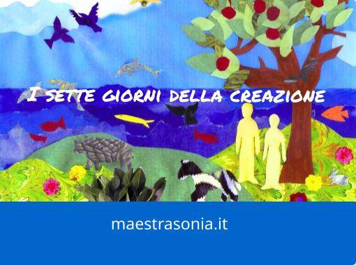 I Sette Giorni Della Creazione Free Books Children S