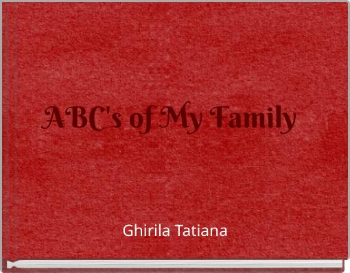 ABC's of My Family