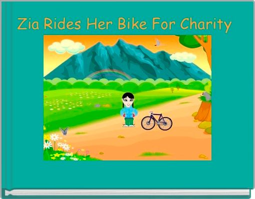 Zia Rides Her Bike For Charity
