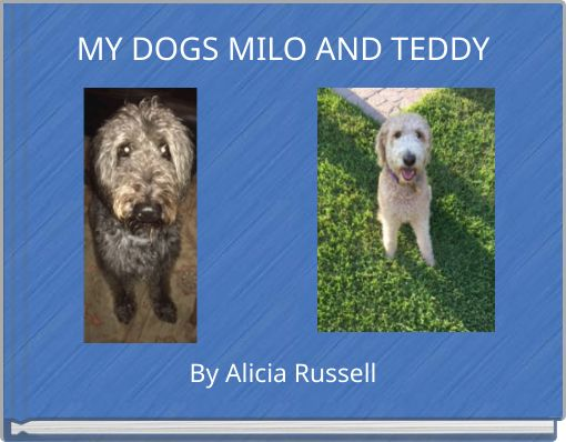 MY DOGS MILO AND TEDDY