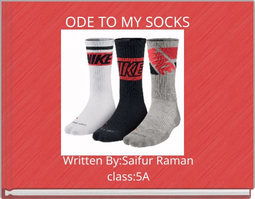 ODE TO MY SOCKS