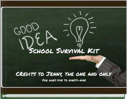 School Survival Kit