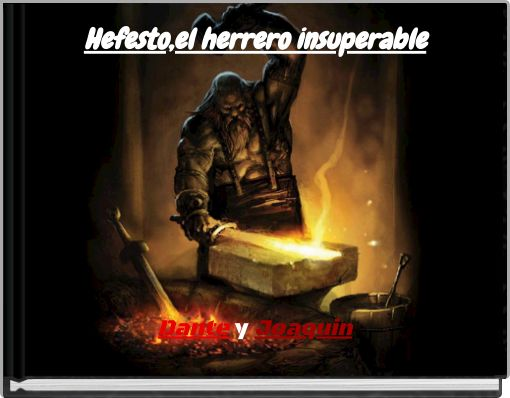 Hefesto,el herrero insuperable