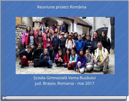 Reuniune proiect România