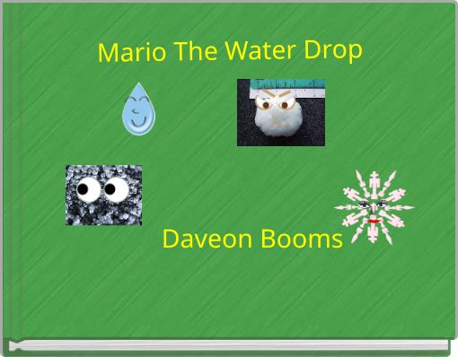 Mario The Water Drop