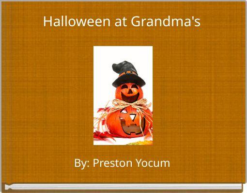Halloween at Grandma's