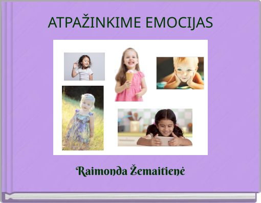 ATPAŽINKIME EMOCIJAS