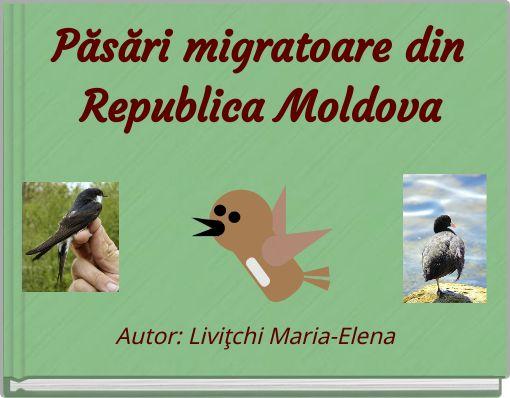Păsări migratoare din Republica Moldova