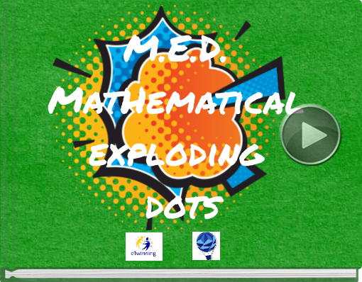 Book titled 'M.E.D. MatHematical exploding dots'
