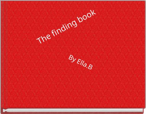 The finding  book