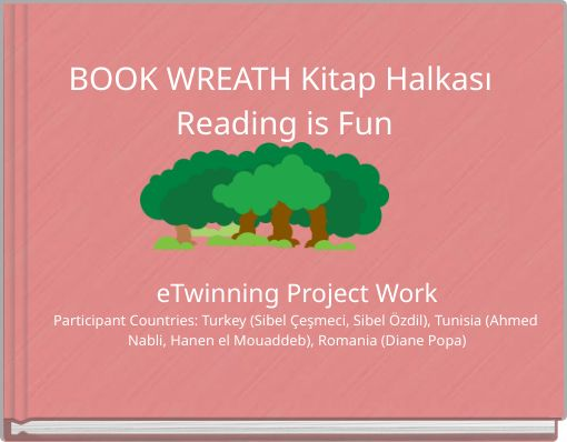 BOOK WREATH Kitap Halkası Reading is Fun