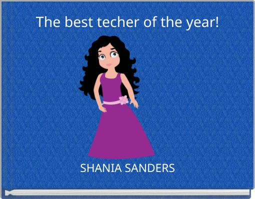 The best techer of the year!