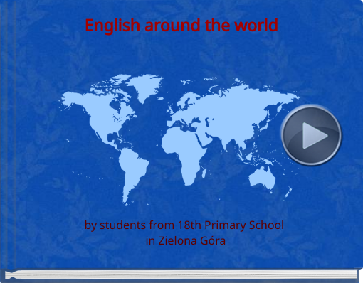 Book titled 'English around the world'