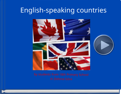 Book titled 'English-speaking countries'