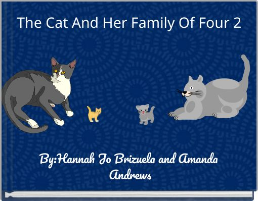 The Cat And Her Family Of Four 2