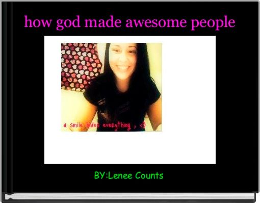 how god made awesome people