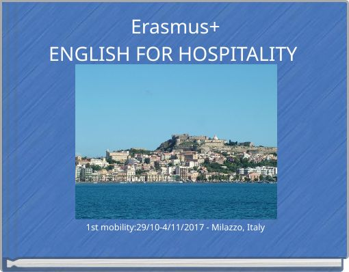 Erasmus+ENGLISH FOR HOSPITALITY