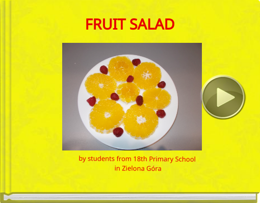 Book titled 'FRUIT SALAD'