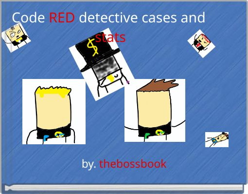 Code RED detective cases and stats