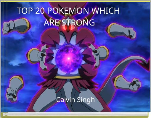 TOP20 POKEMON WHICH ARE STRONG