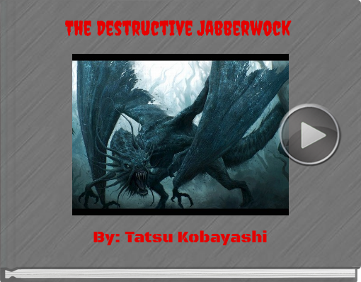 Book titled 'The Destructive Jabberwock'